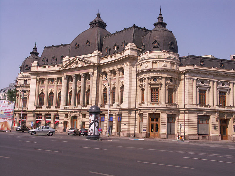 The University of Bucharest Library