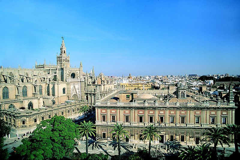 Cathedral of Seville and the Archivo de Indias